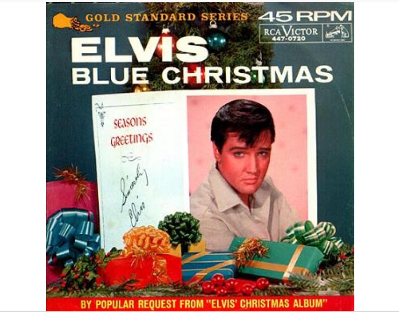 Originalversionen på Elvis julklassiker som först dök upp på Elvis  Christmas Album från 1957. Blue Christmas släpptes som singel 1964  tillsammans med Wooden ... 769181c9a1b12